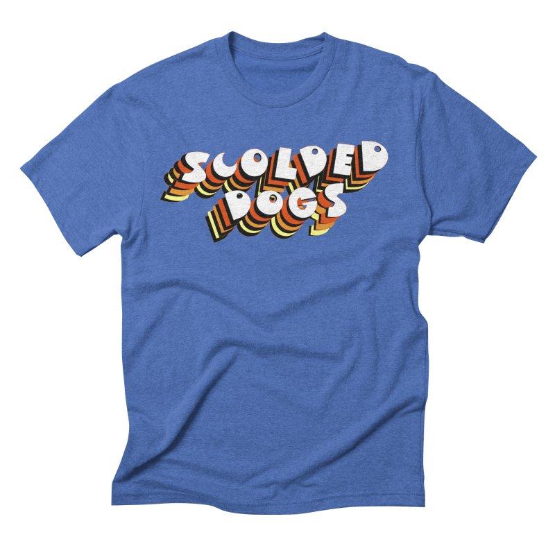 Scolded Tee Men's T-Shirt by Sam Shain's Artist Shop