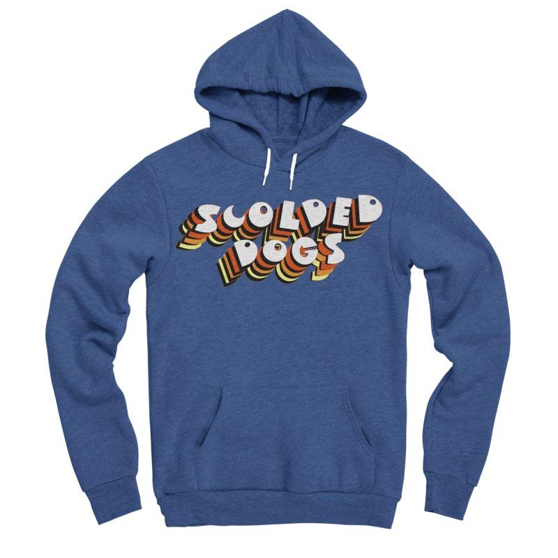Scolded Tee Men's Sponge Fleece Pullover Hoody by Sam Shain's Artist Shop