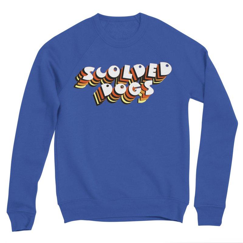 Scolded Tee Women's Sponge Fleece Sweatshirt by Sam Shain's Artist Shop