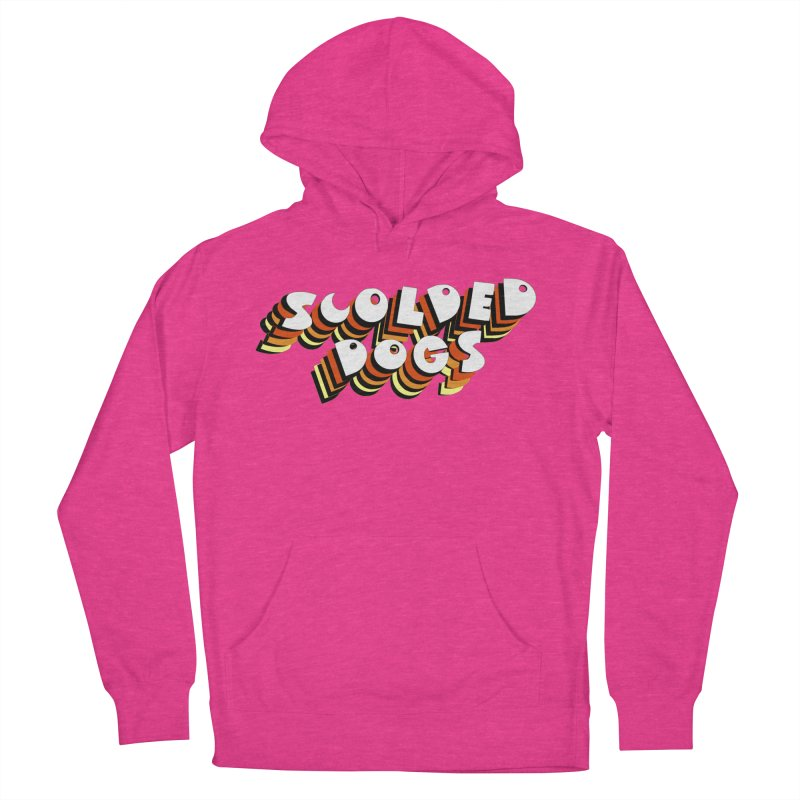 Scolded Tee Men's French Terry Pullover Hoody by Sam Shain's Artist Shop