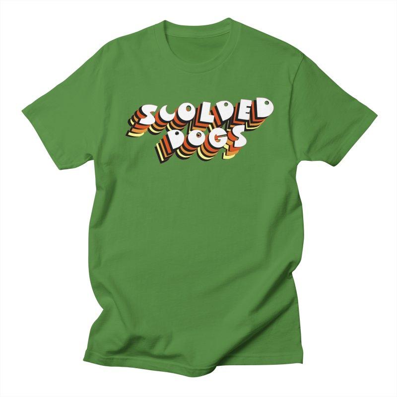 Scolded Tee Men's Regular T-Shirt by Sam Shain's Artist Shop