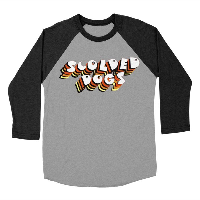 Scolded Tee Men's Baseball Triblend Longsleeve T-Shirt by Sam Shain's Artist Shop