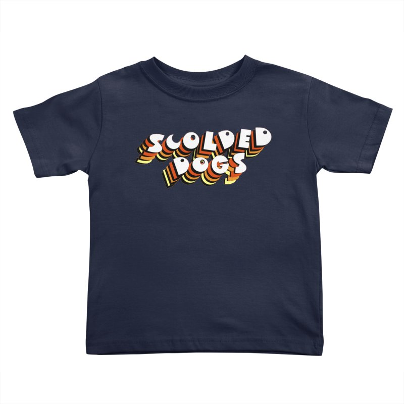 Scolded Tee Kids Toddler T-Shirt by Sam Shain's Artist Shop