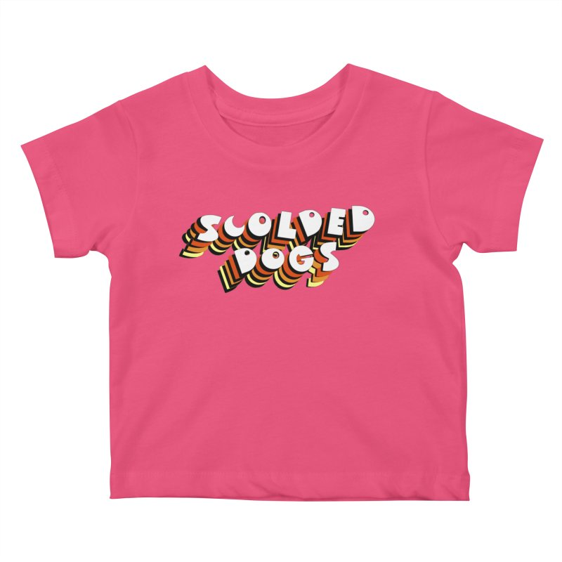 Scolded Tee Kids Baby T-Shirt by Sam Shain's Artist Shop
