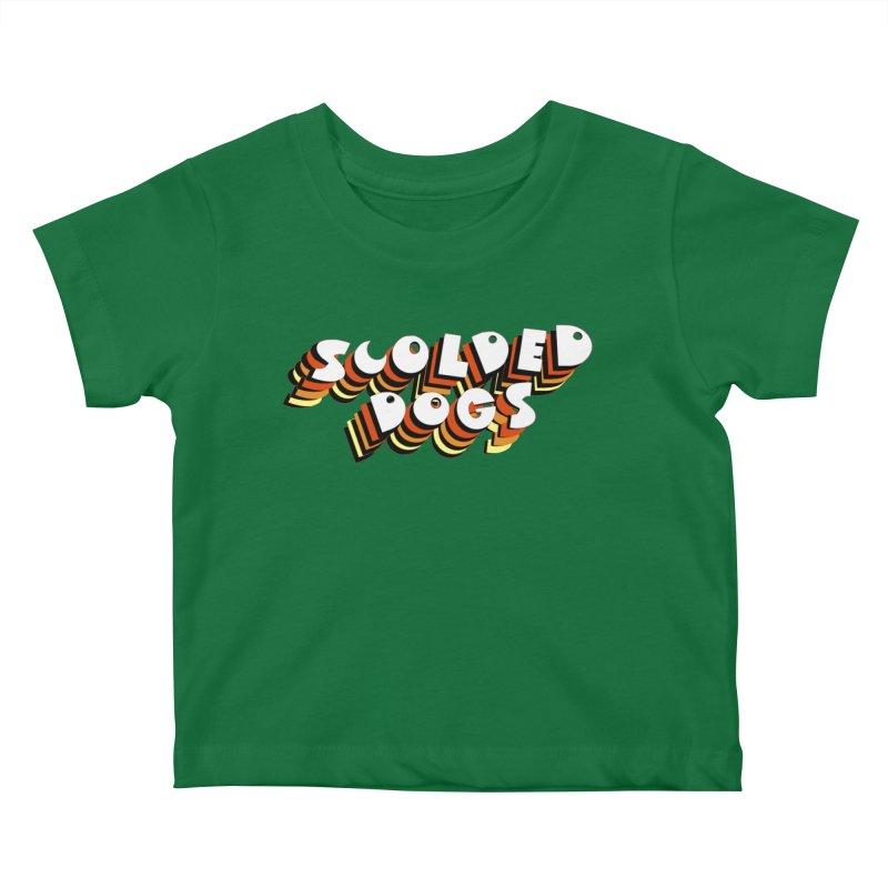 Scolded Tee Kids Baby T-Shirt by Sam Shain's Artist Shop