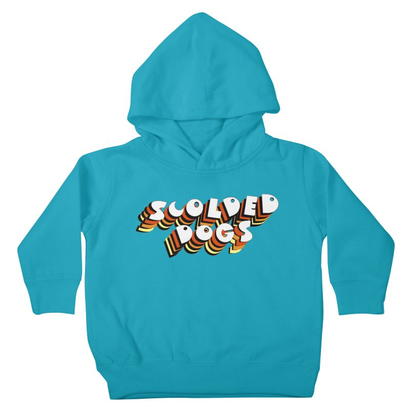 Scolded Tee Kids Toddler Pullover Hoody by Sam Shain's Artist Shop