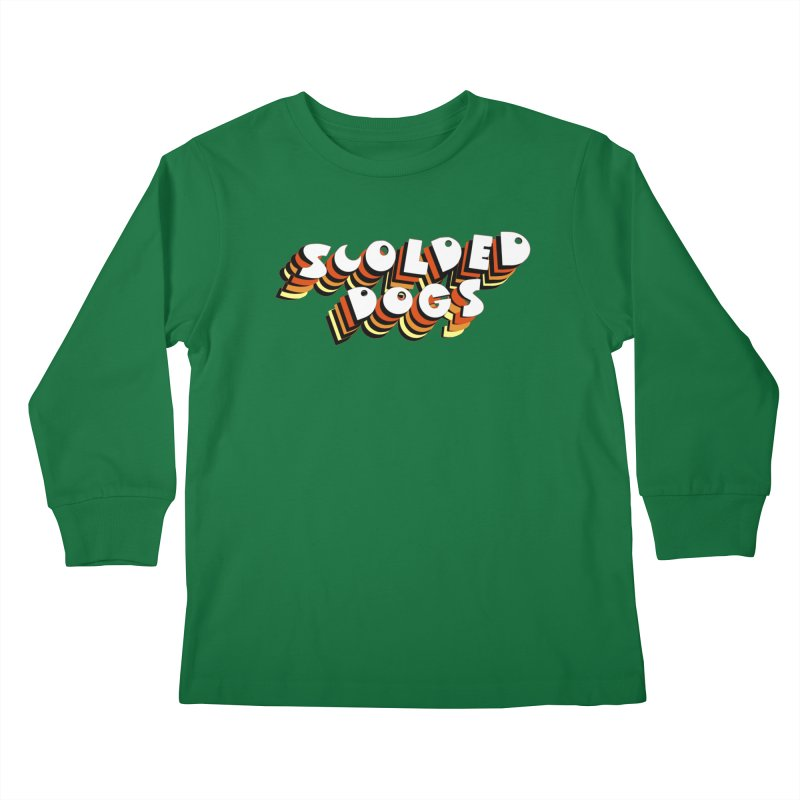 Scolded Tee Kids Longsleeve T-Shirt by Sam Shain's Artist Shop