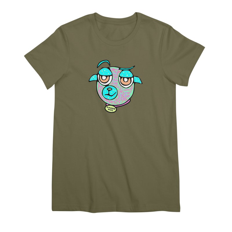 Scolded Tee II Women's Premium T-Shirt by Sam Shain's Artist Shop
