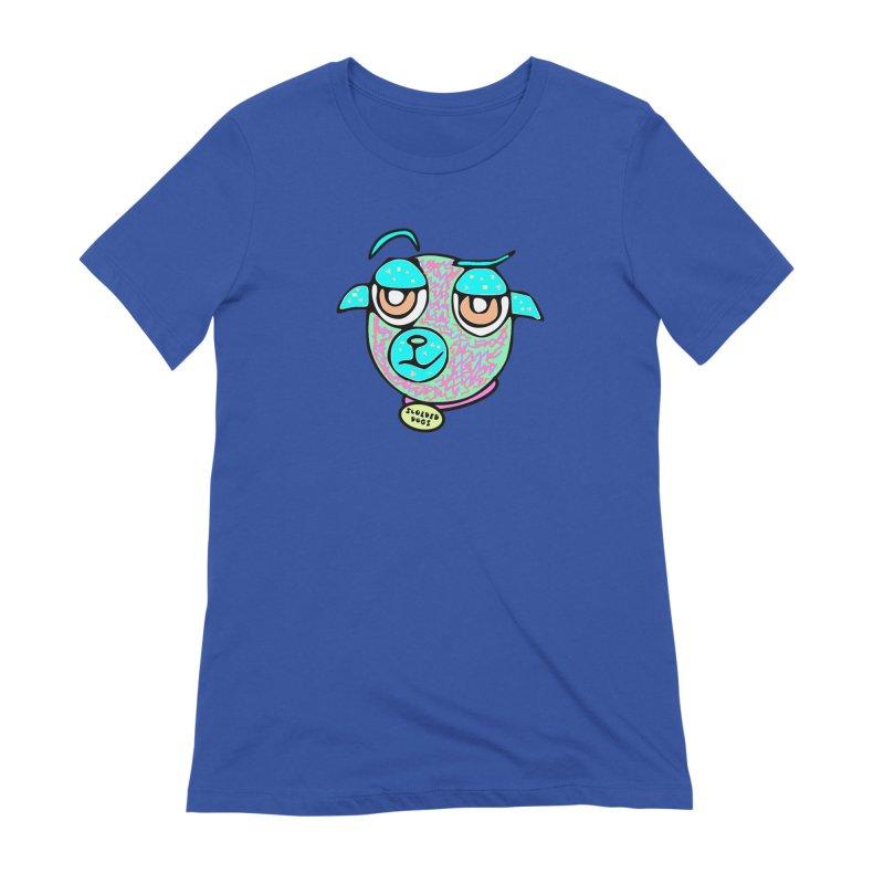 Scolded Tee II Women's Extra Soft T-Shirt by Sam Shain's Artist Shop