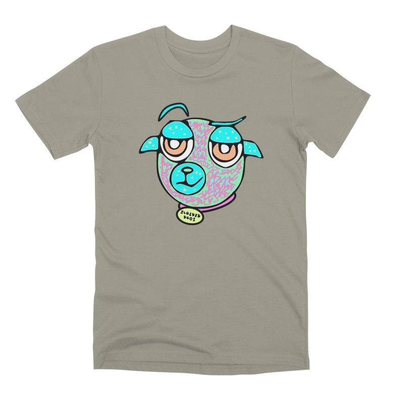 Scolded Tee II Men's Premium T-Shirt by Sam Shain's Artist Shop