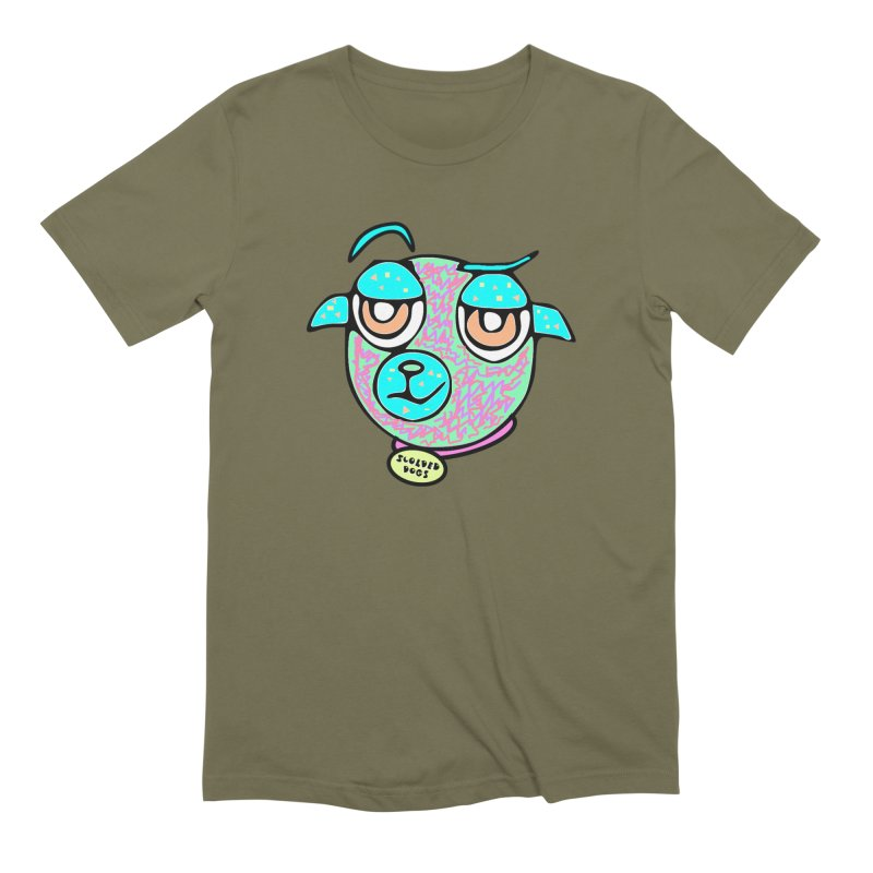 Scolded Tee II Men's Extra Soft T-Shirt by Sam Shain's Artist Shop
