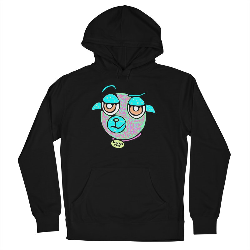 Scolded Tee II Women's French Terry Pullover Hoody by Sam Shain's Artist Shop
