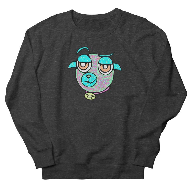 Scolded Tee II Men's French Terry Sweatshirt by Sam Shain's Artist Shop