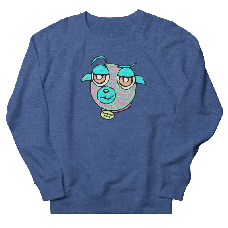 Scolded Tee II Men's French Terry Sweatshirt by Sam Shain's Artist Shop