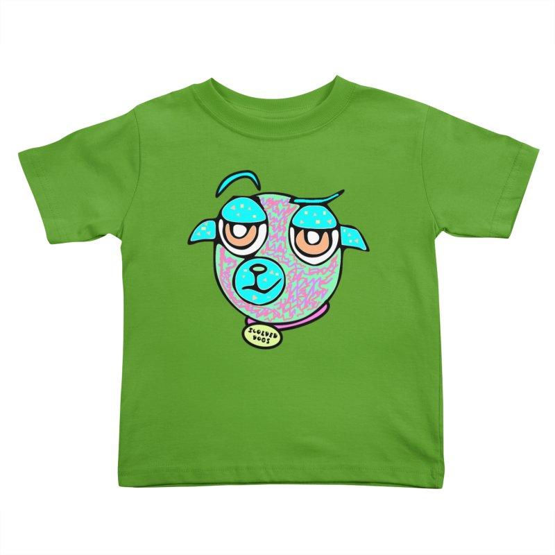 Scolded Tee II Kids Toddler T-Shirt by Sam Shain's Artist Shop