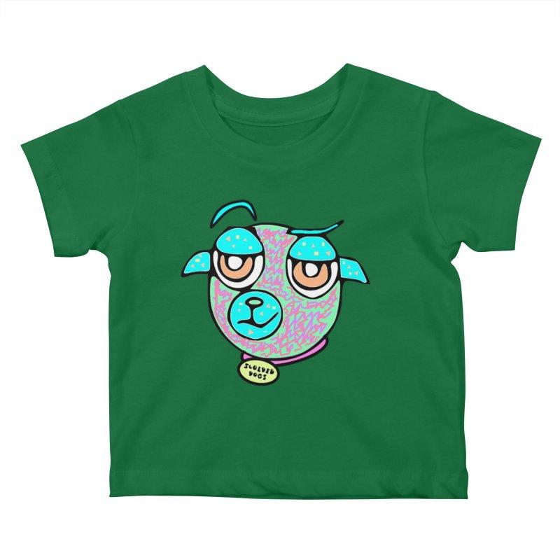 Scolded Tee II Kids Baby T-Shirt by Sam Shain's Artist Shop