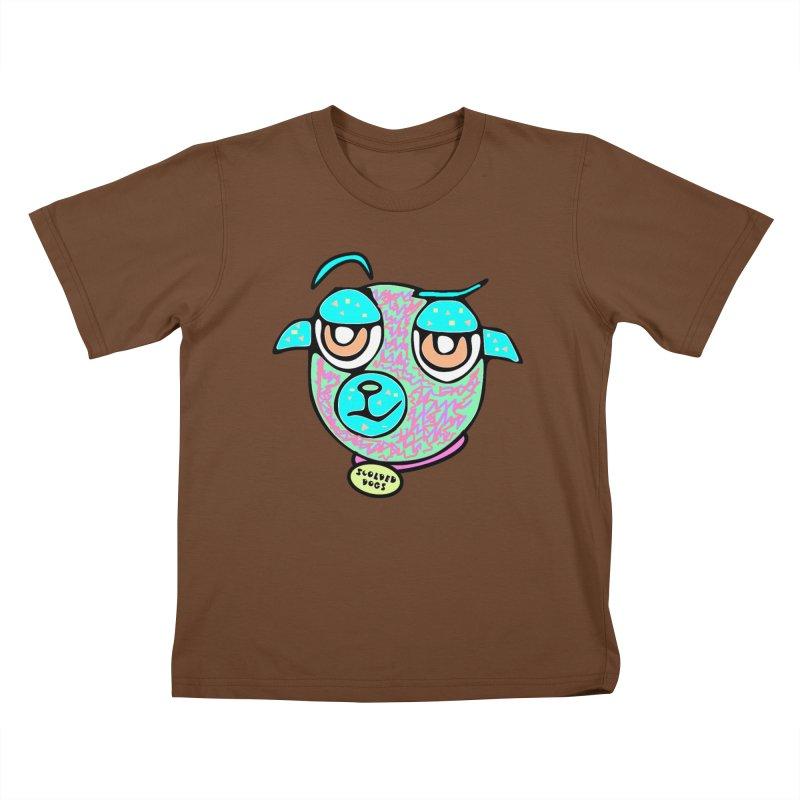 Scolded Tee II Kids T-Shirt by Sam Shain's Artist Shop