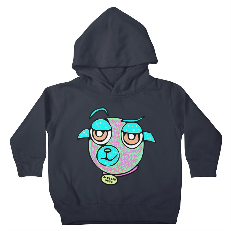 Scolded Tee II Kids Toddler Pullover Hoody by Sam Shain's Artist Shop