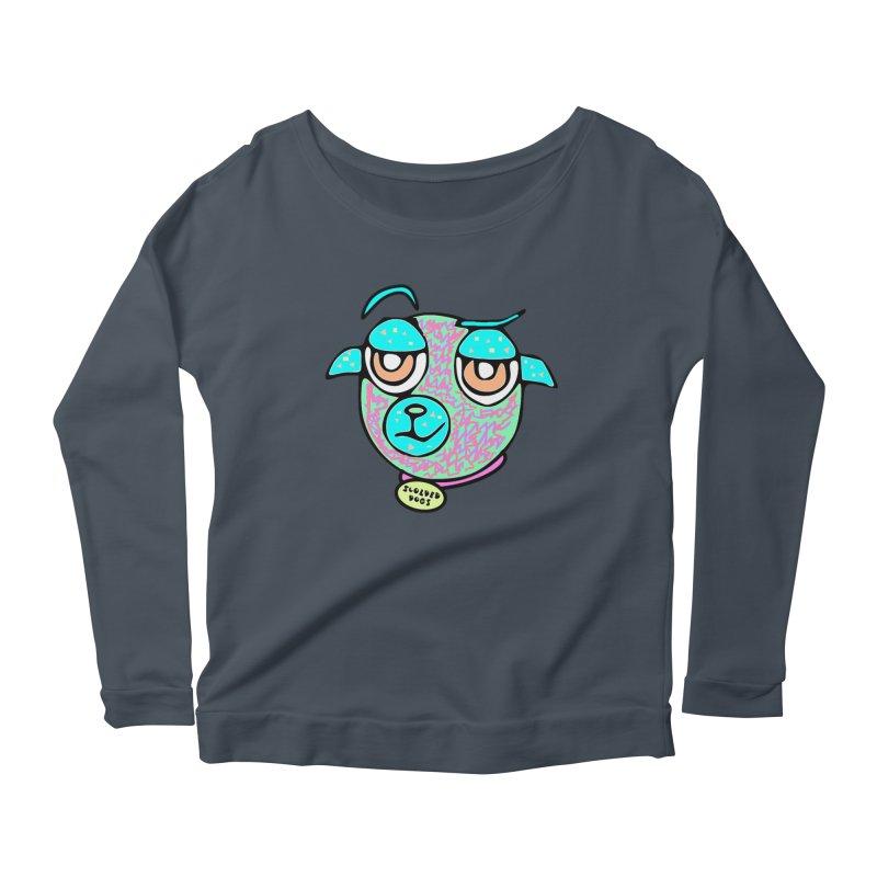 Scolded Tee II Women's Scoop Neck Longsleeve T-Shirt by Sam Shain's Artist Shop