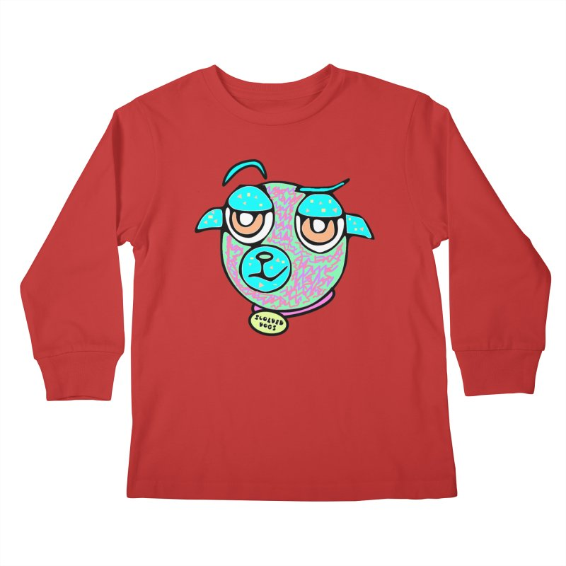 Scolded Tee II Kids Longsleeve T-Shirt by Sam Shain's Artist Shop