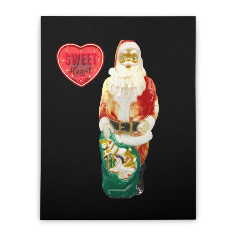 Mr. Sweetheart Home Stretched Canvas by Sam Shain's Artist Shop