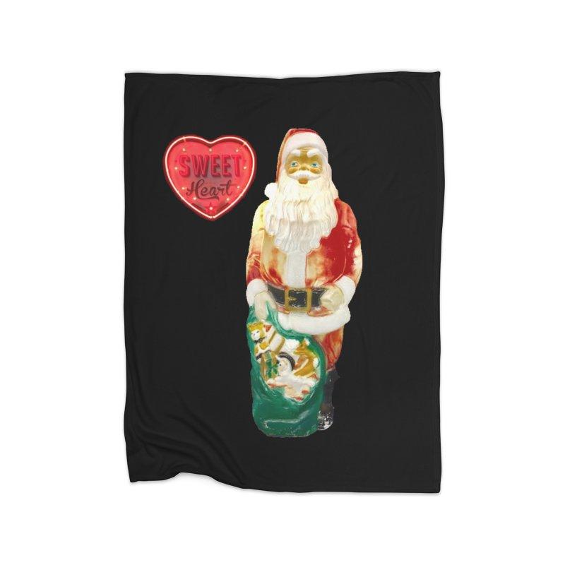 Mr. Sweetheart Home Fleece Blanket Blanket by Sam Shain's Artist Shop