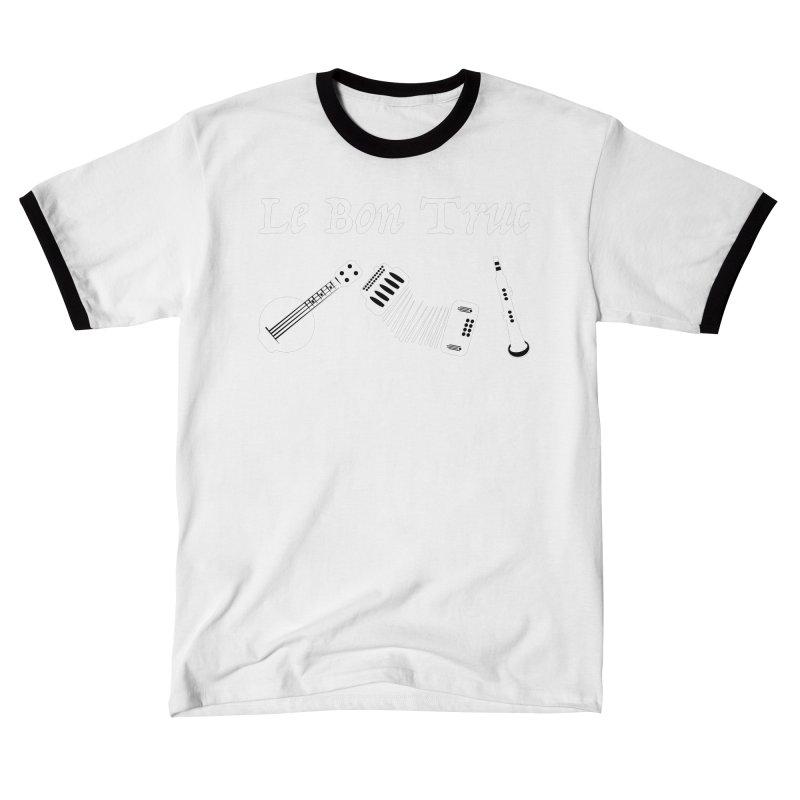 Le Bon Truc Men's T-Shirt by Sam Shain's Artist Shop