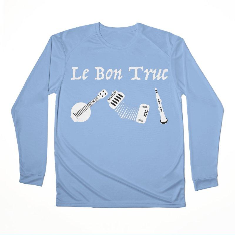 Le Bon Truc Men's Longsleeve T-Shirt by Sam Shain's Artist Shop