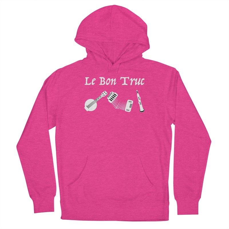 Le Bon Truc Men's Pullover Hoody by Sam Shain's Artist Shop