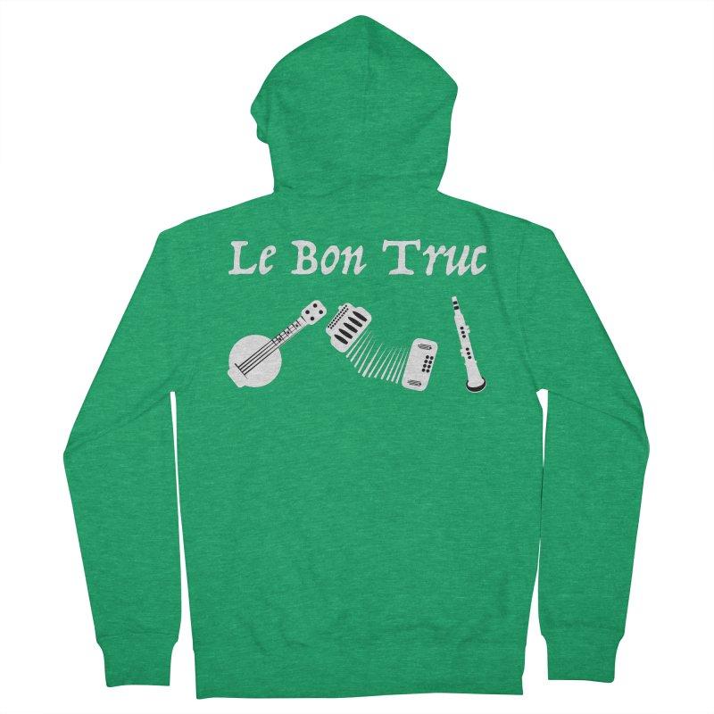 Le Bon Truc Men's Zip-Up Hoody by Sam Shain's Artist Shop