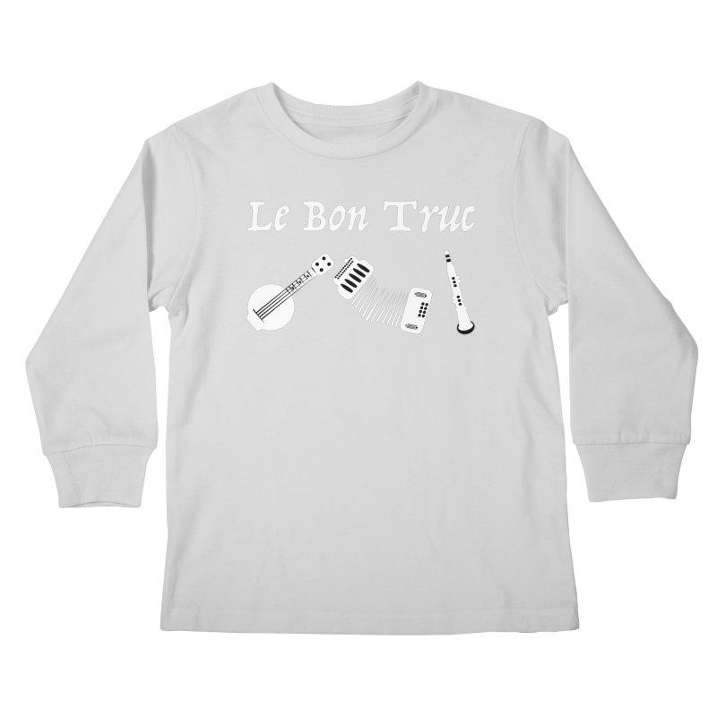 Le Bon Truc Kids Longsleeve T-Shirt by Sam Shain's Artist Shop