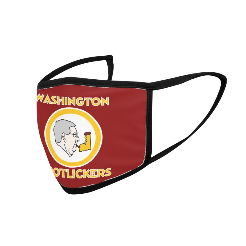 Washington Bootlickers Accessories Face Mask by Sam Shain's Artist Shop