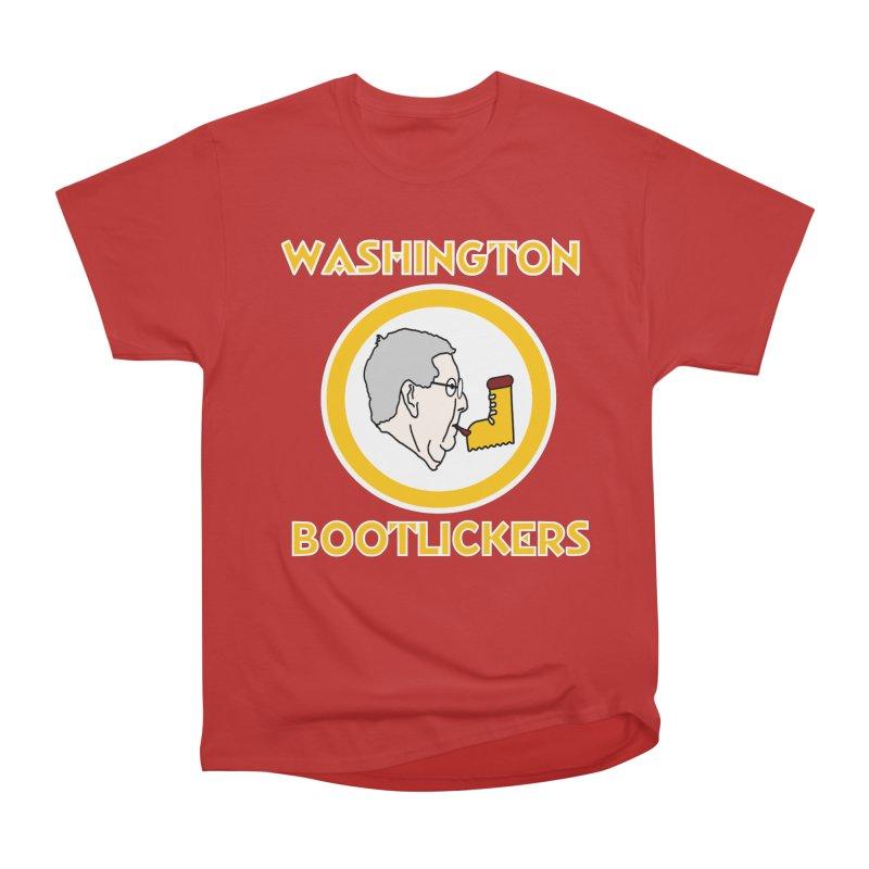 Washington Bootlickers Men's T-Shirt by Sam Shain's Artist Shop