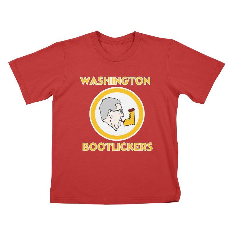 Washington Bootlickers Kids T-Shirt by Sam Shain's Artist Shop