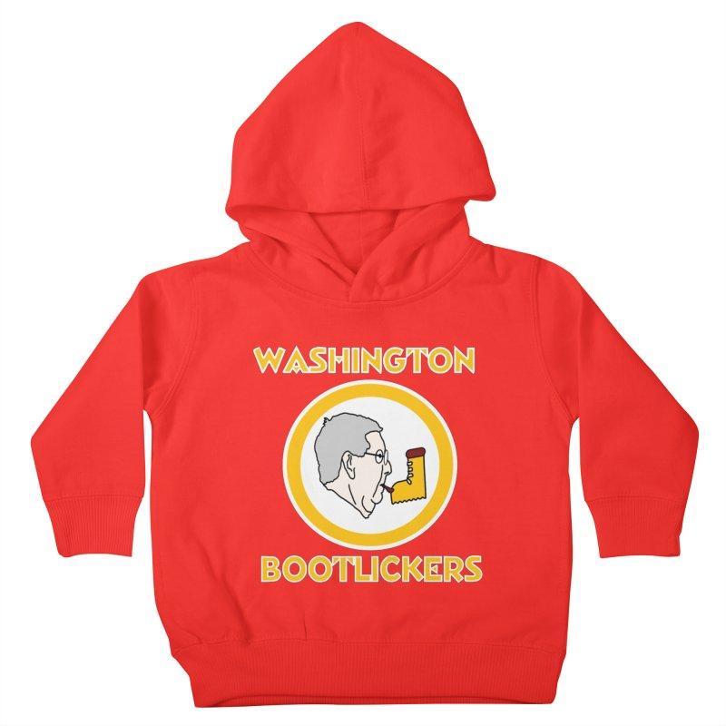 Washington Bootlickers Kids Toddler Pullover Hoody by Sam Shain's Artist Shop