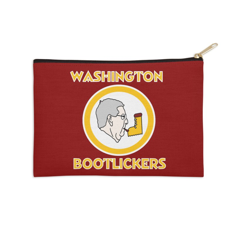 Washington Bootlickers Accessories Zip Pouch by Sam Shain's Artist Shop