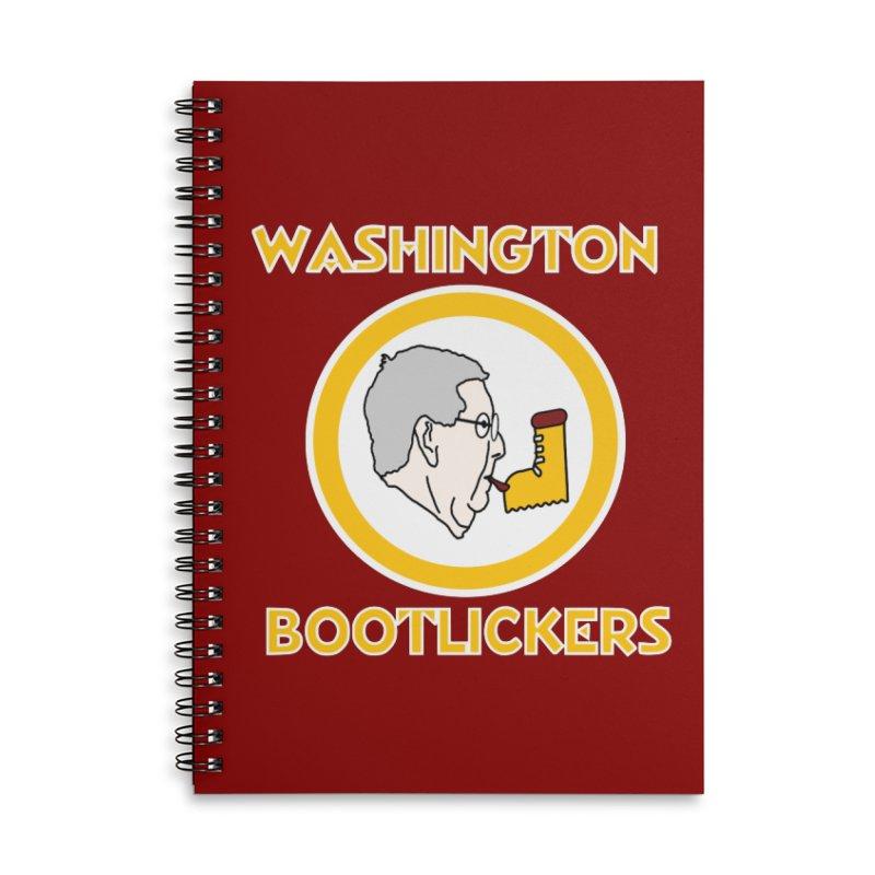 Washington Bootlickers Accessories Notebook by Sam Shain's Artist Shop