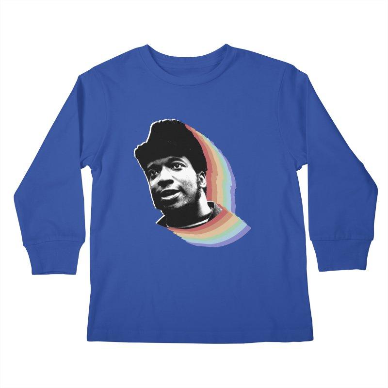 Fred Kids Longsleeve T-Shirt by Sam Shain's Artist Shop