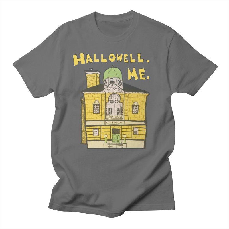 Hallowell, ME Men's T-Shirt by Sam Shain's Artist Shop
