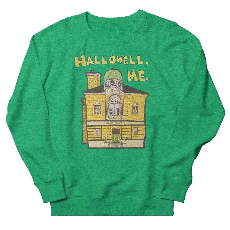 Hallowell, ME Women's Sweatshirt by Sam Shain's Artist Shop