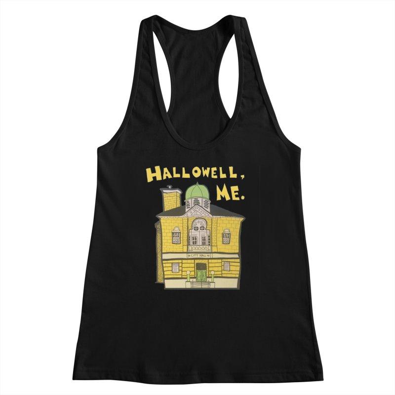 Hallowell, ME Women's Tank by Sam Shain's Artist Shop