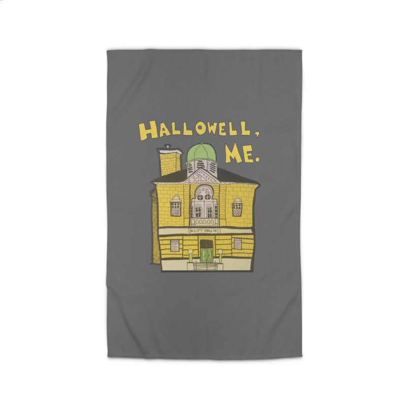Hallowell, ME Home Rug by Sam Shain's Artist Shop