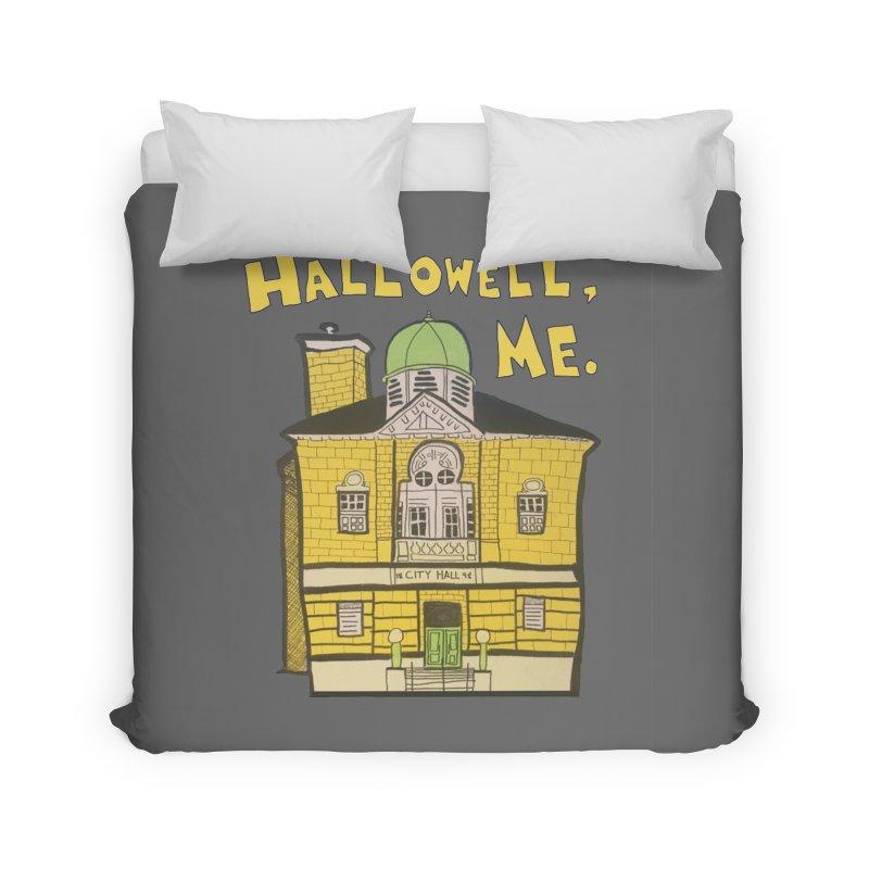 Hallowell, ME Home Duvet by Sam Shain's Artist Shop