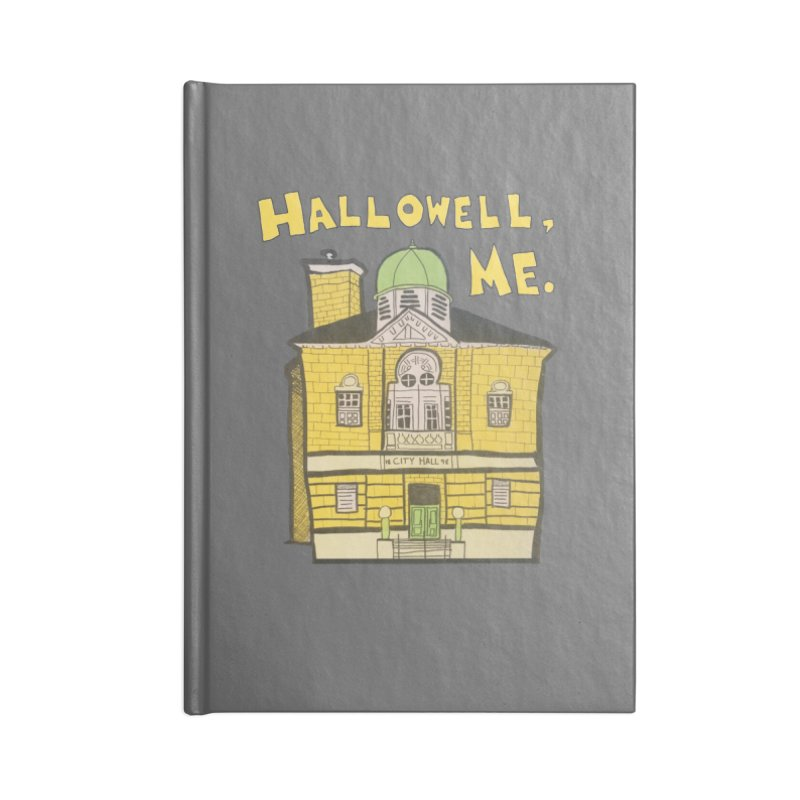Hallowell, ME Accessories Notebook by Sam Shain's Artist Shop