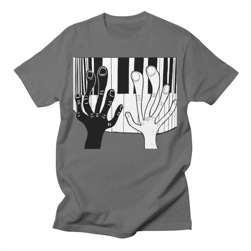 Racial Harmony  Men's T-Shirt by Sam Shain's Artist Shop