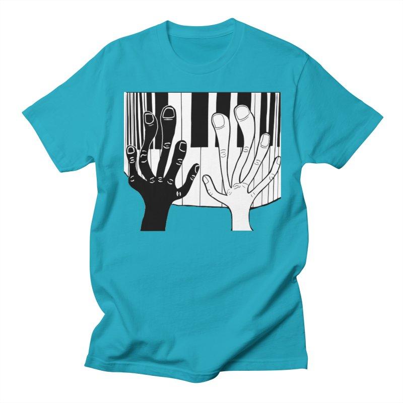 Racial Harmony  Women's Regular Unisex T-Shirt by Sam Shain's Artist Shop