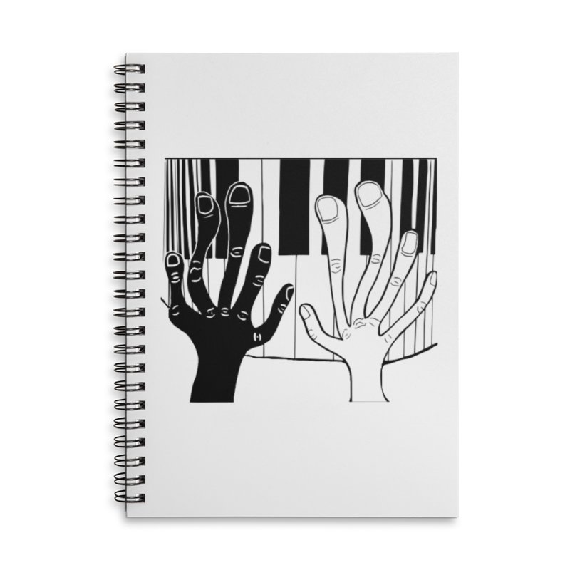 Racial Harmony  Accessories Lined Spiral Notebook by Sam Shain's Artist Shop