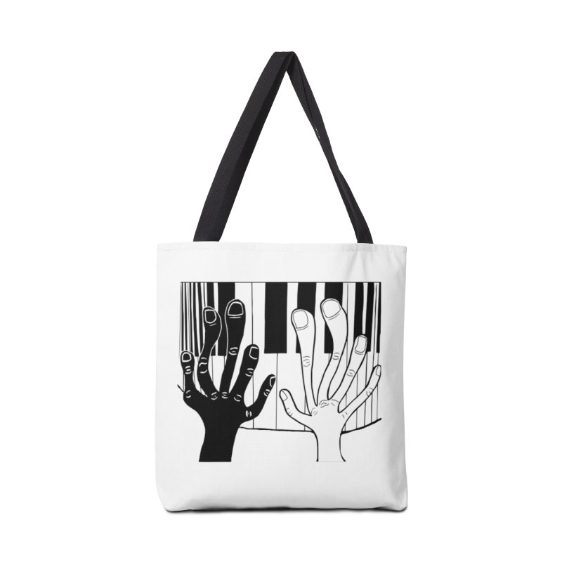 Racial Harmony  Accessories Tote Bag Bag by Sam Shain's Artist Shop