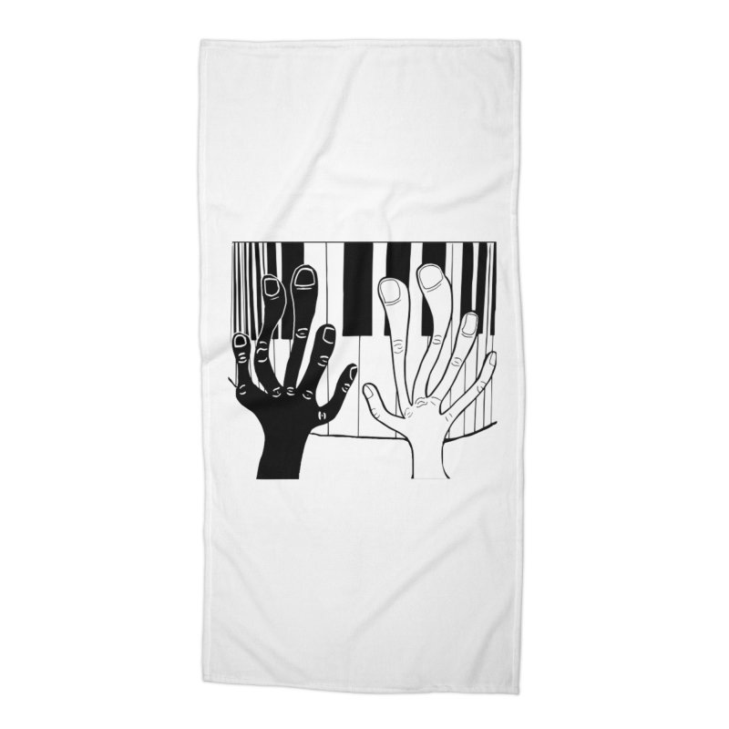 Racial Harmony  Accessories Beach Towel by Sam Shain's Artist Shop