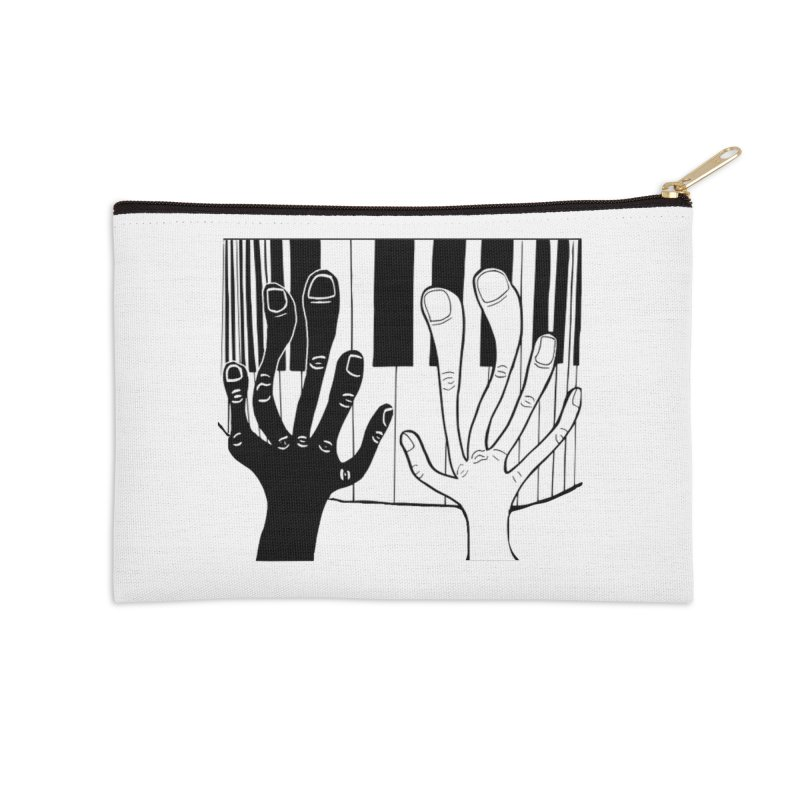 Racial Harmony  Accessories Zip Pouch by Sam Shain's Artist Shop